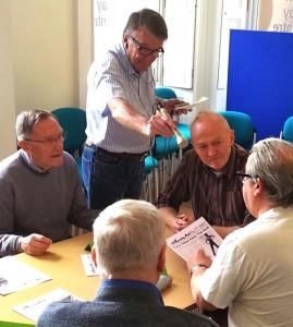 Preserving the past: volunteers record fond memories and help strengthen community ties