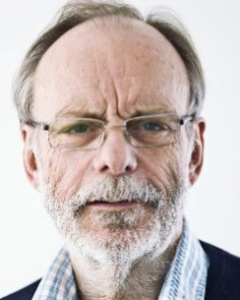 Head and shoulders portrait of Professor Ian Banks