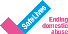Logo: Safe Lives Ending domestic abuse