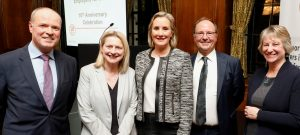 Caroline Dinenage, Minister of State for Care attending the launch of Carer Confident