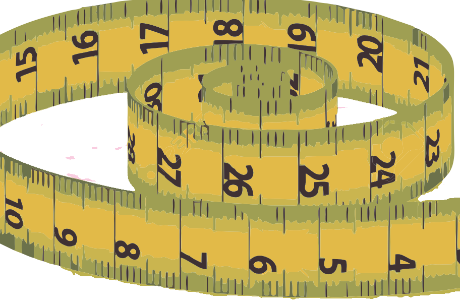 Tape measure unfurled
