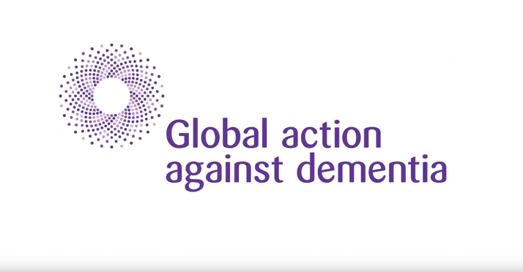 Global action on dementia logo