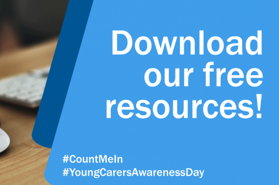 An image linking to young carer awareness day resources
