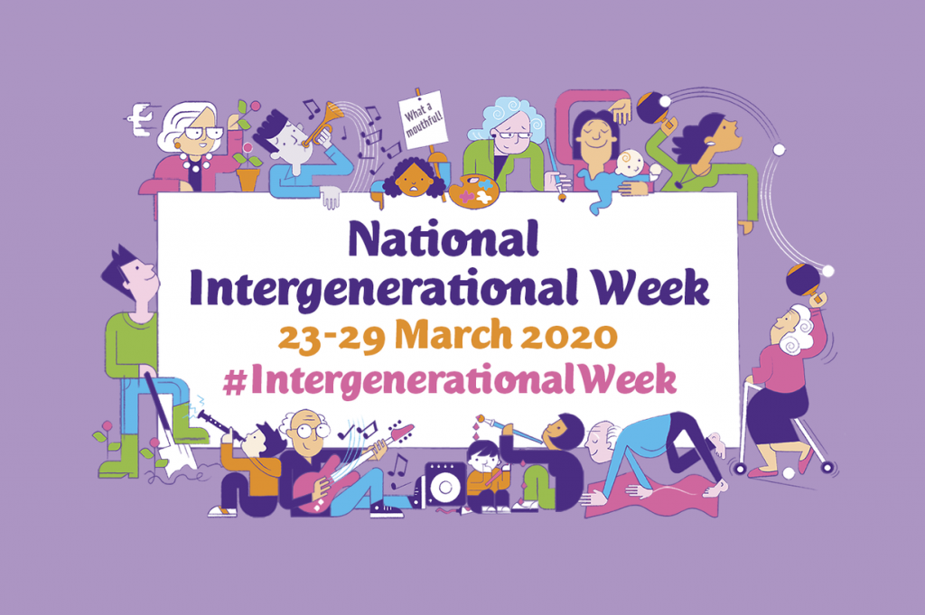 National Intergenerational Week 2020 poster