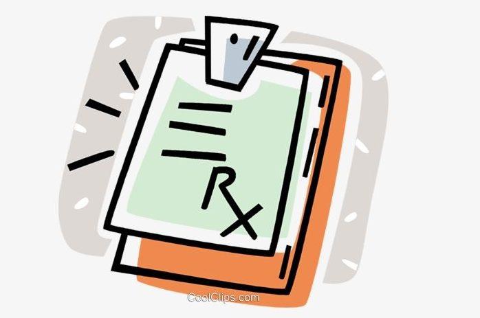 A GP prescription pad