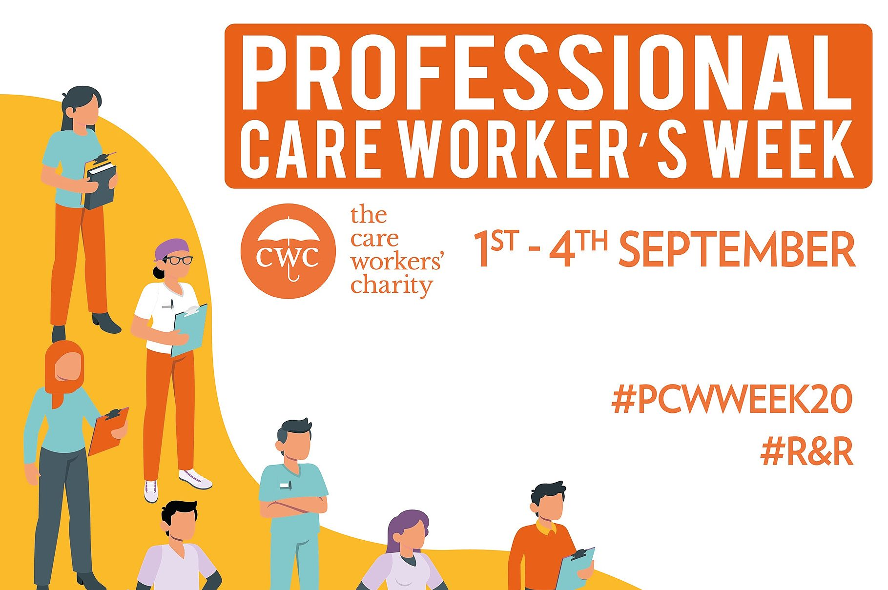 professional Care Workers Week poster