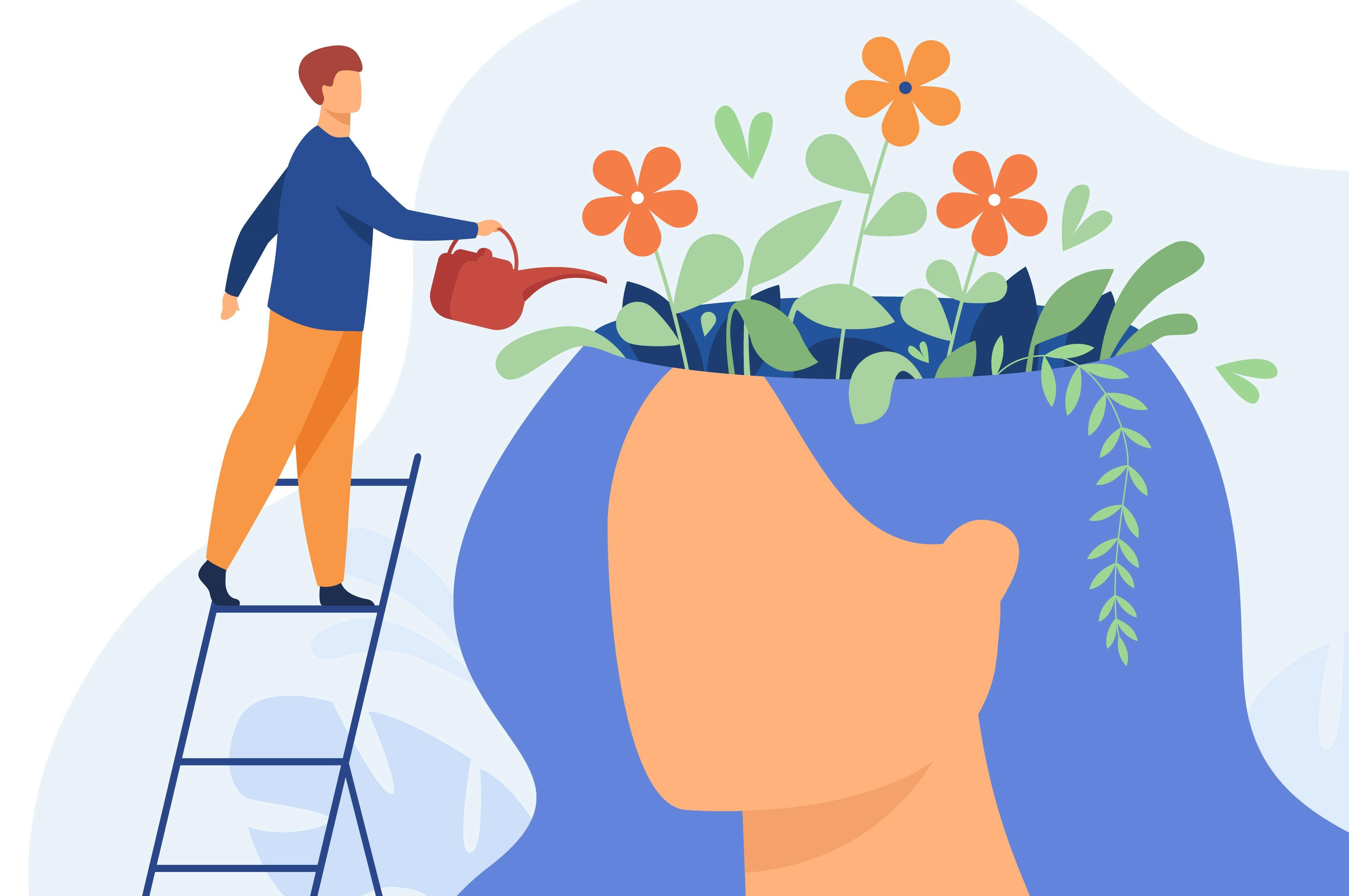 Nourishing the mind like a garden