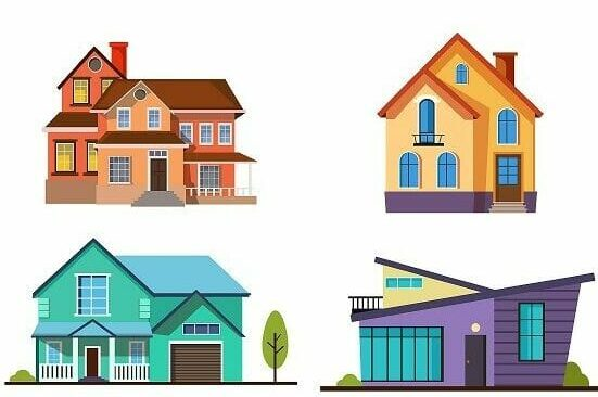 A range of housing designs
